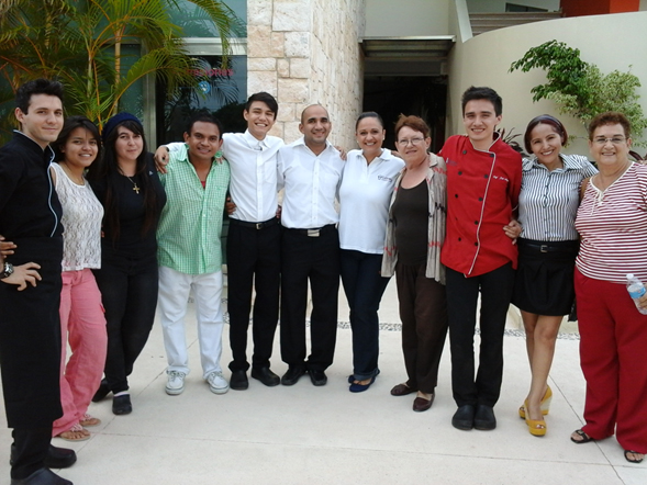Evento en el Culinary, Instituto Culinario de Cancun